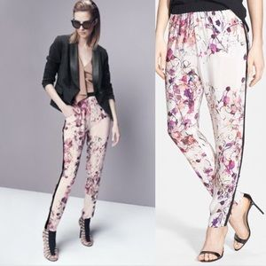 Chelsea 28 Cherry Blossom Floral Track Pants